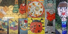 wonderful ideas and guidelines from professionals on making large scale mosaics