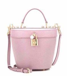 Embossed leather shoulder bag | Dolce & Gabbana