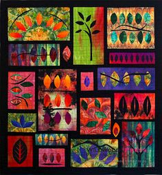 Susan Stein and surface design techniques in art quilts 10/16/2012 art quilts, Minnesota Quilters, quilts, SAQA, Susan Stein 0 comments