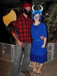 paul bunyan babe the blue ox halloween costume - Google Search