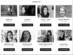 It is our honor to introduce you to our talented designers! #stylecable #newdesigners #emergingdesigners
