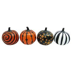 Target: Halloween Decor Pumpkins - Small