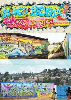 ni nyampinga graffiti - rwanda