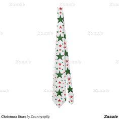 Christmas Stars Tie