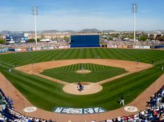 Peoria Sports Complex - Spring Training home of the San Diego Padres and Seattle Mariners.