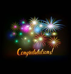 Congratulations Typography, Congratulations Words, Congratulations Graduate, Happy Birthday Greetings Friends, Birthday Wishes, Merry Christmas Text, Good Night Sweet Dreams, Fireworks, Birthdays