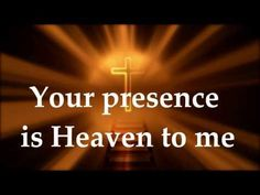 Your Presence Is Heaven To Me - Christine D'Clario - Lyrics from the album Deeper. English version from the Spanish album - Mas Profundo. Christian Videos, Christian Songs, Israel Houghton, Me Too Lyrics, Jesus Loves Me, Gospel Music, I Need You, Names Of Jesus, My King