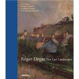 This book has some monotype with pastel landscapes by Degas
