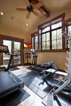 21 Best Home Gym Ideas - Basement Gym Design -