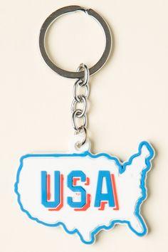 Brandy ♥ Melville | USA Keychain - Accessories