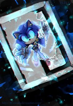 GOTF: Sonic by BloomTH on DeviantArt p.s-from AmyRose646: he looks so cool in this pic