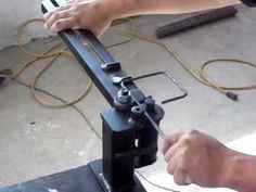 ¡No te compliques más! Usa esta fabulosa herramienta de doblar hierro para estribos – Manos a la Obra