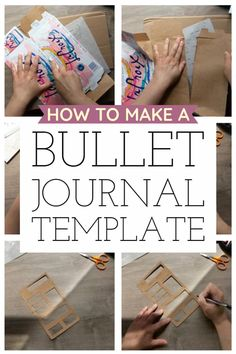 How to Make a Time-Saving Bullet Journal Stencil Template · Hawk Hill