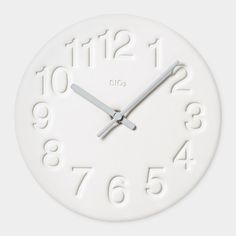 happy Diatomite Wall Clock