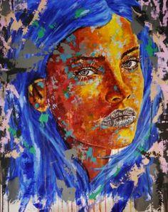 "Saatchi Art Artist Bazevian BAZEVIAN; Painting, ""Post Synthétique XV"" #art"