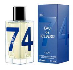 The new Eau de Iceberg Cedar has a fresh, deep personality, which awakens the senses. The aromatic, woody essence reveals the power of the cedar tree, emblem of eternity.