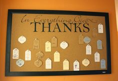 Rage Against the Minivan: A simple DIY gratitude board for Thanksgiving