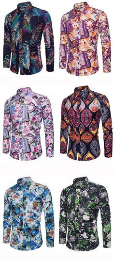Tidebuy Printed Shirts