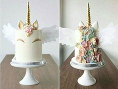 unique unicorn cake for a whimsical event
