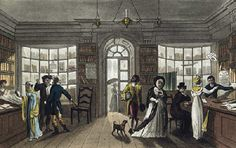 Shopping in Regency England.