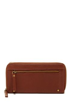 Lena Double Zip Around Wallet by Lucky Brand on @nordstrom_rack