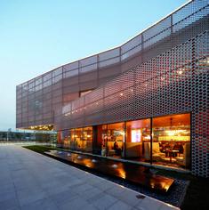 Galería de Galería de Ventas Vanke del Nuevo Centro de la Ciudad / Spark Architects - 3