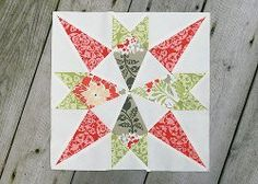 Star of Mystery Quilt Block