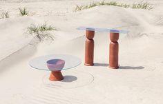 Ceramic Furniture by Eny Lee Parker Ceramic Furniture, Cool Furniture, Furniture Design, Retro Furniture, Refurbished Furniture, Classic Furniture, Pallet Furniture, Furniture Ideas, Bedroom Furniture