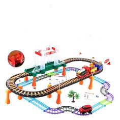 [$9.50] Electric Rail Toy Car (specification: 338 11)