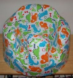 Baby Boys Bumbo Chair Infant Seat Flannel Cover Custom Made Dinosaurs | eBay