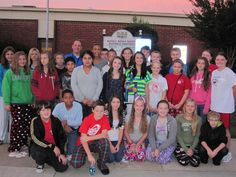 Russell Middle School cross country team celebrates victory