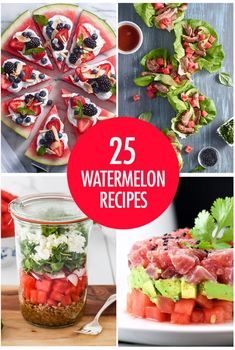 25 Juicy Watermelon Recipe Ideas | Food Bloggers of Canada