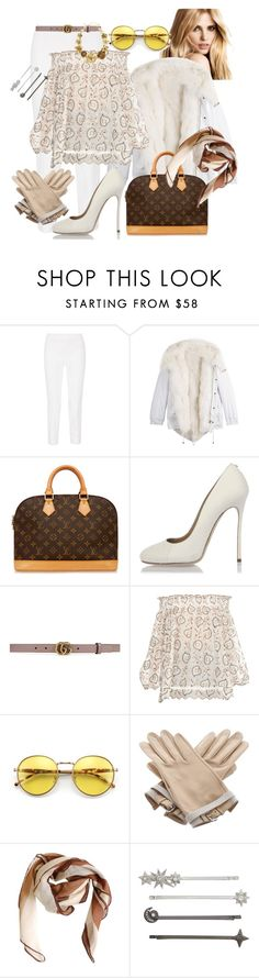 """""""Warmer temperature"""" by danieluska ❤ liked on Polyvore featuring Emilio Pucci, Barbed, Louis Vuitton, Dsquared2, Gucci, Zimmermann, Wildfox, Hermès, HUGO and Henri Bendel"""