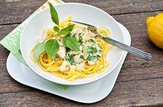Sitruunainen broileri-pasta