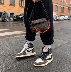 Travis x Virgil By Travis Scott Outfits, Travis Scott Shoes, Travis Scott Fashion, Aesthetic Shoes, Aesthetic Clothes, Sneakers Mode, Sneakers Fashion, Shoes Sneakers, Nike Sportswear