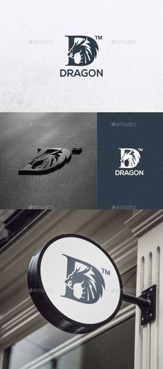 Dragon  Logo EPS Template • Only available here ➝ https://graphicriver.net/item/dragon/17627440?ref=pxcr