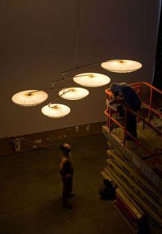 design of lighting. Lindsey Adelman\u0027s Branch Disk Fixture | Lighting Pinterest Lights, Industrial And Ceiling Design Of O