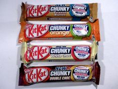 I love it when people go a little extra distance figuring out their favourite foods. Chocolate Sweets, Chocolate Heaven, Chocolate Coffee, Chocolate Bars, Kit Kat Flavors, Chocolates, Snack Recipes, Snacks, Candy Shop
