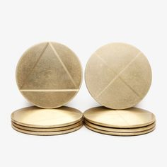 Solid Brass Coaster