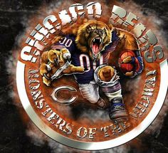 Chicago Bears Pictures, Chicago Bears Baby, Chicago Bears Wallpaper, William Perry, Walter Payton, Bears Football, Tough Guy, Logo Images, Football Season