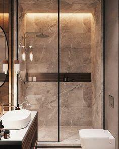 salle-de-bain Badezimmer Inspiration // Loft Interior You should s Scandinavian Bathroom Inspiration, Bathroom Design Inspiration, Bad Inspiration, Design Ideas, Furniture Inspiration, Scandinavian Style, Interior Inspiration, Loft Bathroom, Guest Bathrooms