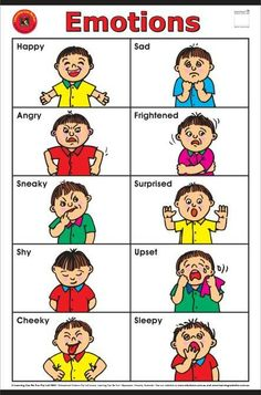 5 Best Images of Preschool Printables Emotions Feelings - Printable Preschool Feelings Faces Emotions, Printable Preschool Feelings Activities and Preschool Printables Feelings Emotions Learning English For Kids, English Lessons For Kids, Kids English, English Language Learning, English Words, Teaching English, Learn English, Emotions Preschool, Preschool Learning