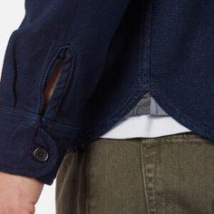 Edwin Men's Loggerhead Popover Shirt - Rinsed: Image 5