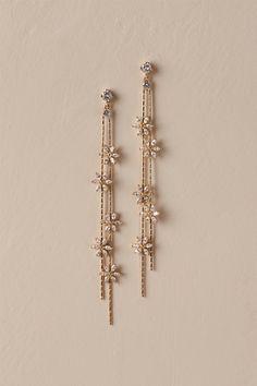 BHLDN Theia Jewelry Tasmin Drop Earrings in Gold - Jewelry & Accessories - . - BHLDN Theia Jewelry Tasmin Drop Earrings in Gold – Jewelry & Accessories – - Ear Jewelry, Cute Jewelry, Gold Jewelry, Jewelery, Jewelry Accessories, Women Jewelry, Jewelry Design, Gold Bracelets, Jewelry Box