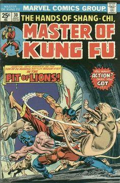 Master of Kung Fu # 30 by Gil Kane & Dan Adkins