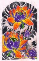 hình xăm bông hoa 9