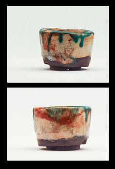kusamono, shitakusa, pot, fired at 1230 degrees von potteryhelmut auf Etsy