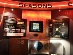Why is the Sun so low in the sky in winter? Why are the days so long in summer? This interactive exhibit won't lower your air conditioning bill, but it will help you understand why we have seasons.