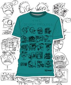 Popular fashion. 99designs Community T-Shirt Contest, Entry by Bobolouli