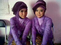 purple#hijab#kebaya